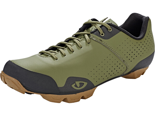 Giro Privateer Lace Shoes Herre olive/gum